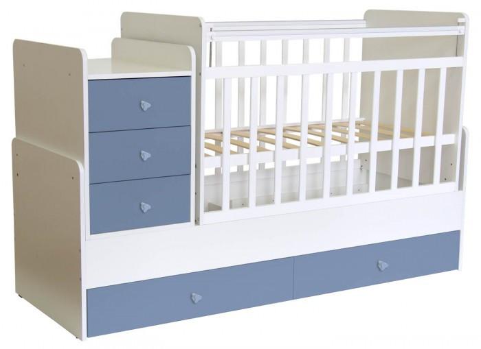 Кроватки-трансформеры Фея 1100