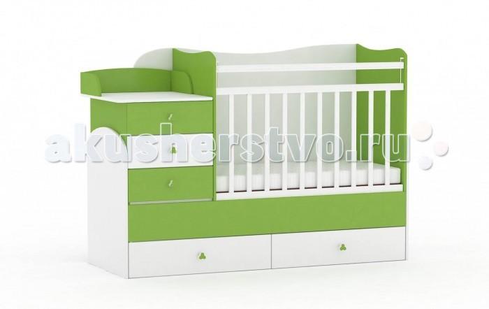 Кроватки-трансформеры Фея 1400