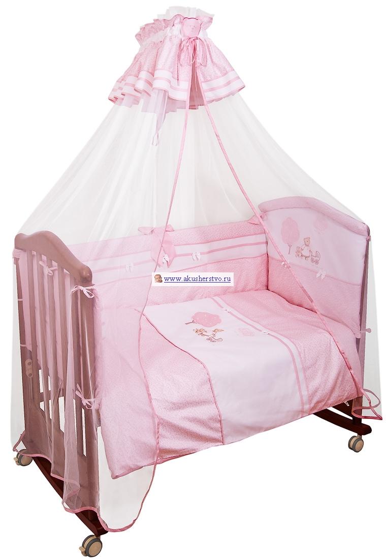 Бамперы для кроваток Сонный гномик Ля-ля-ля 120х60