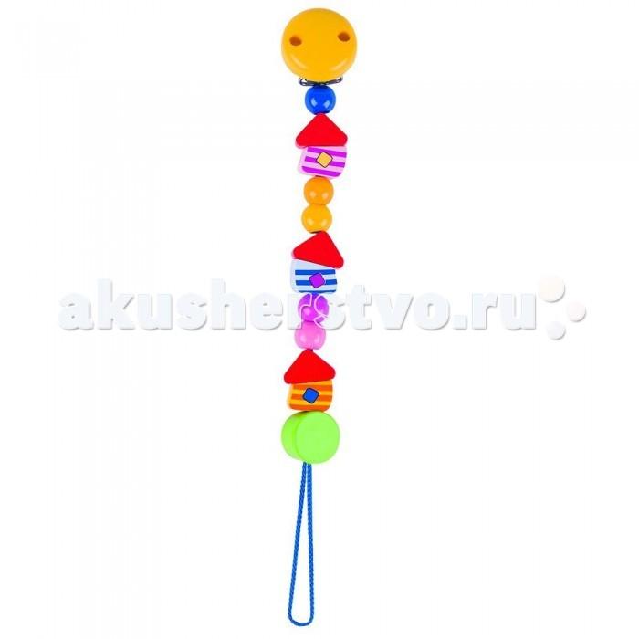 Деревянные игрушки Heimess Держатель с клипсой Цветные монетки