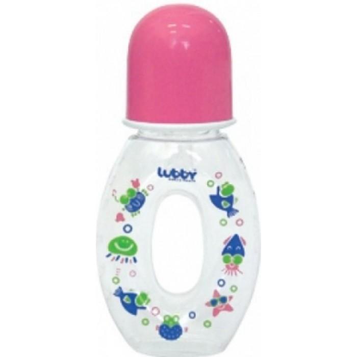 Бутылочки Lubby Бублик с силиконовой соской с 0 мес. 240 мл