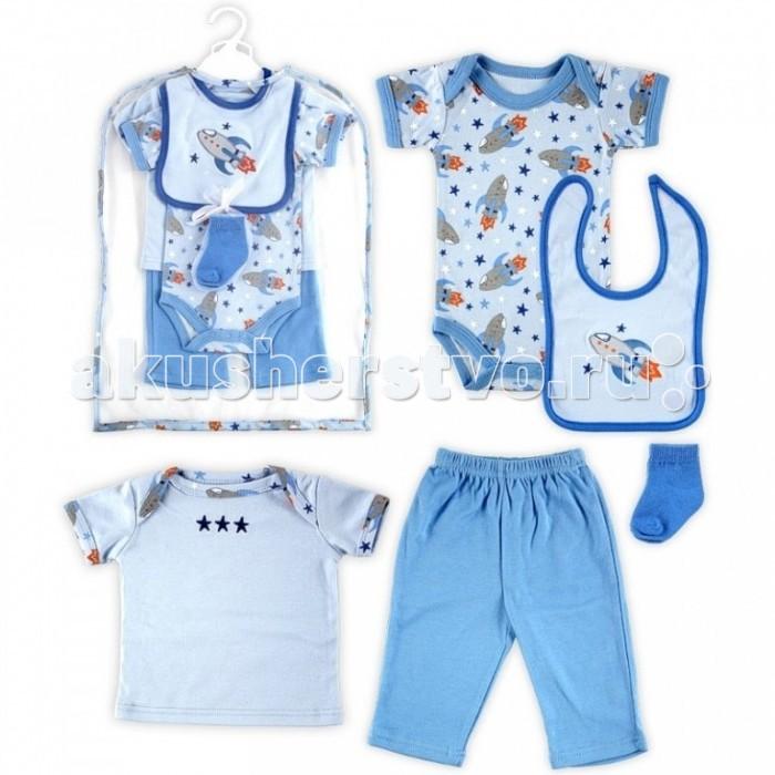 Подарочные наборы Hudson Baby 5809 55-61 (6 предметов)