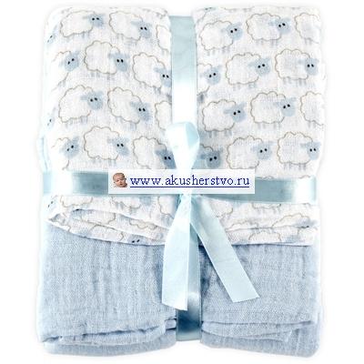 Одеяла Hudson Baby пеленальное Овечки 2 шт.