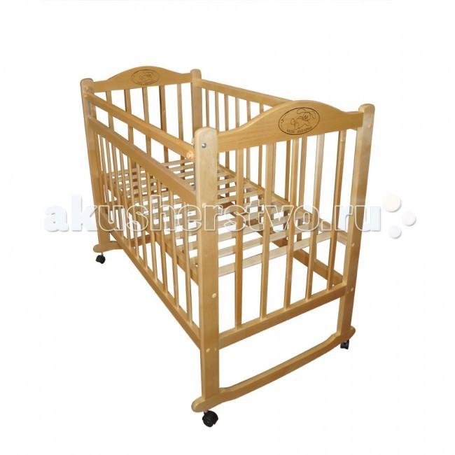 Детские кроватки Ивашка Мой малыш 4 (колесо-качалка)