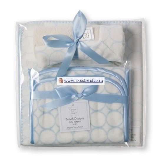 Пеленки SwaddleDesigns для новорожденного Organic (3 предмета)