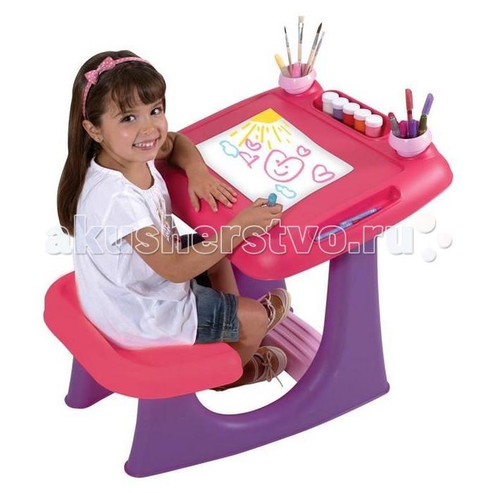 Пластиковая мебель Keter Столик детский для рисования Шелли