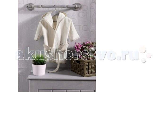 Халаты Kidboo Blossom Saten Vanilla махра