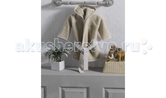 Халаты Kidboo Honey Bear Linen флис