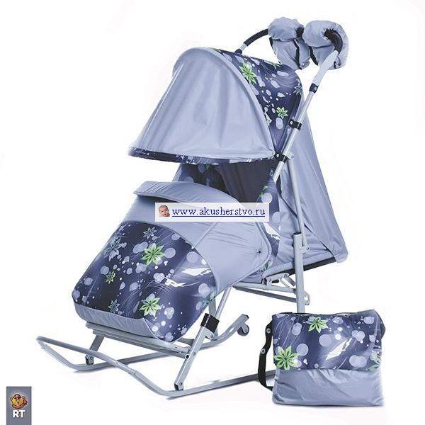 Санки-коляски Kristy Luxe Comfort