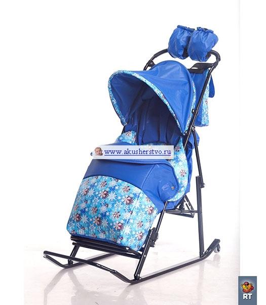 Luxe Comfort Снежинки/Голубой