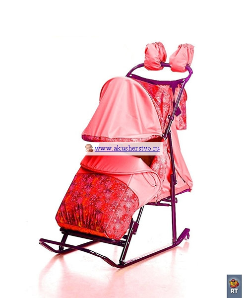 Luxe Comfort Снежинки/Красный