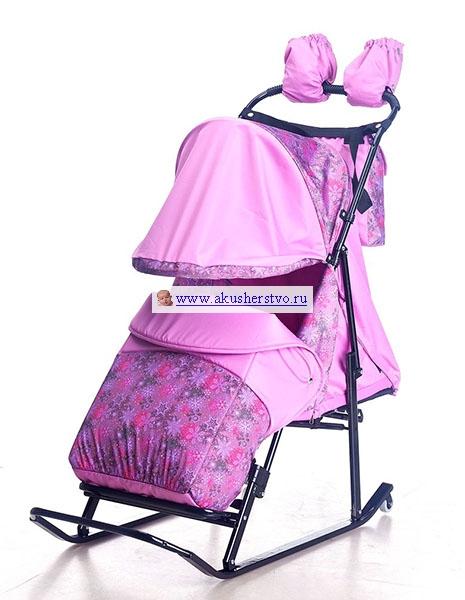 Luxe Comfort Снежинки/Розовый
