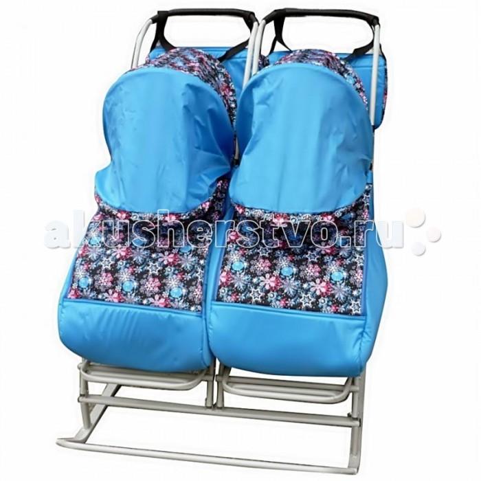Comfort Снежинки для двойни Синий