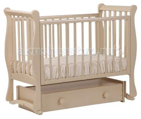 Детские кроватки Кубаньлесстрой Лаванда 21.4 (маятник универсальный)
