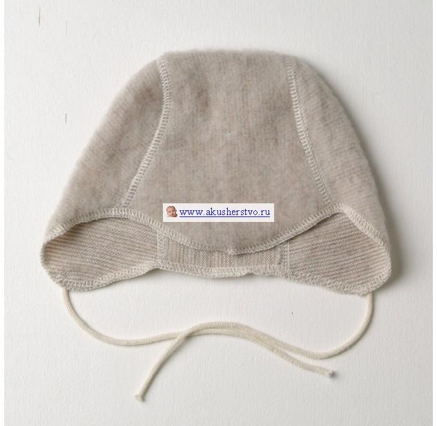 Детская шапочка 6-9 мес Коричневый