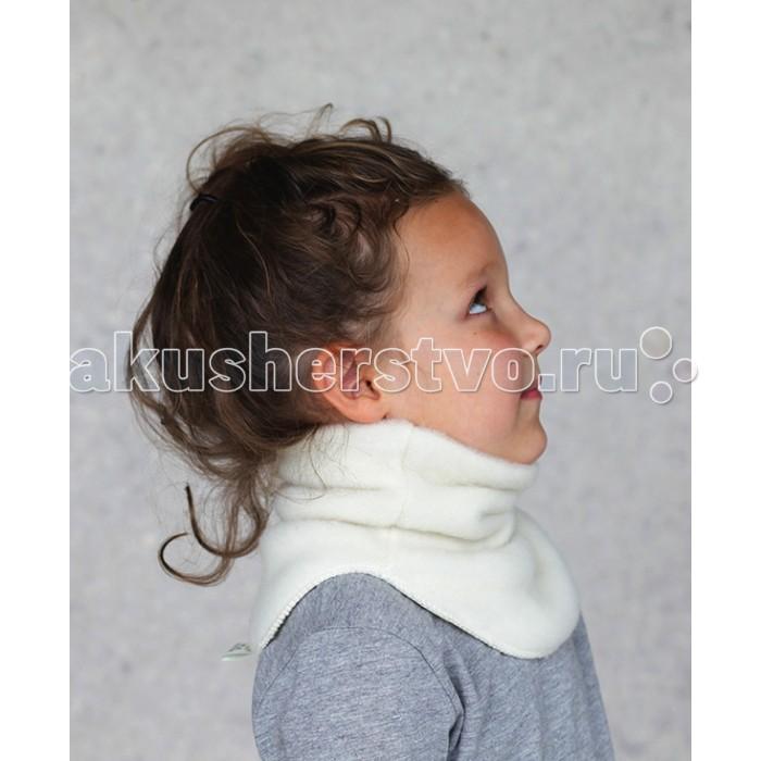 Шапочки и шарфы Lana Care Манишка из шерсти мериноса