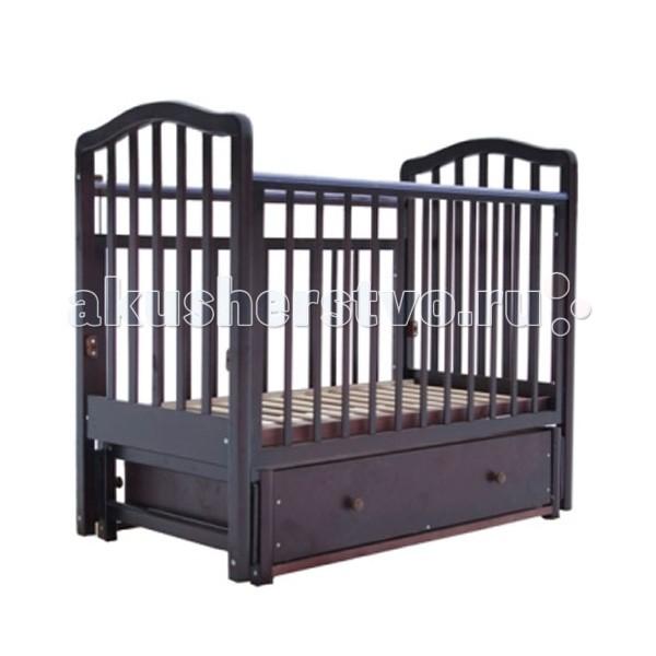 Детские кроватки Лаура 1 маятник поперечный