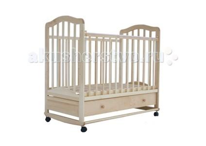 Детские кроватки Лаура 6 качалка с ящиком