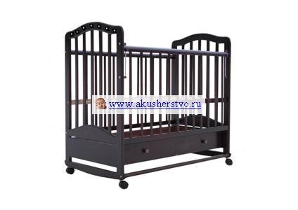 Детские кроватки Лаура 6 качалка со стразами