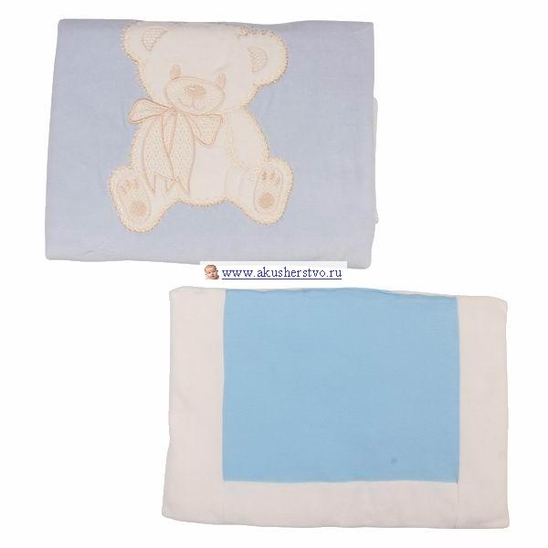 Комплекты в коляску Lider Kids Комплект одеяло и подушка