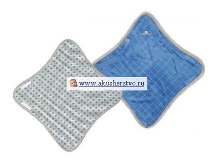 Lodger odeyalo wrapper cotton blc005 dotty blue 61409