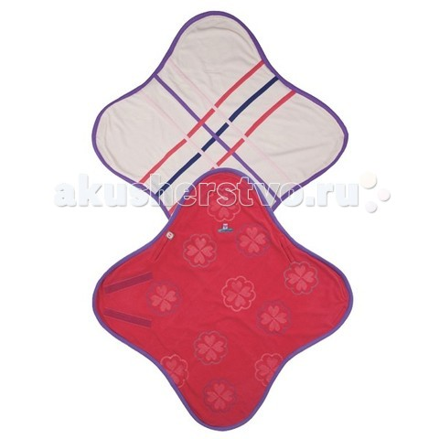 одеяло Wrapper Flieece BL038 Розовый