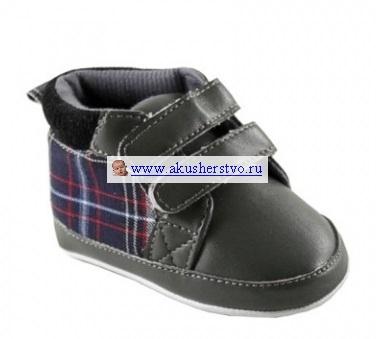 Обувь и пинетки Luvable Friends Пинетки Шотландка 0-6 мес.