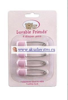 Уход за малышом Luvable Friends Булавки 4 шт.