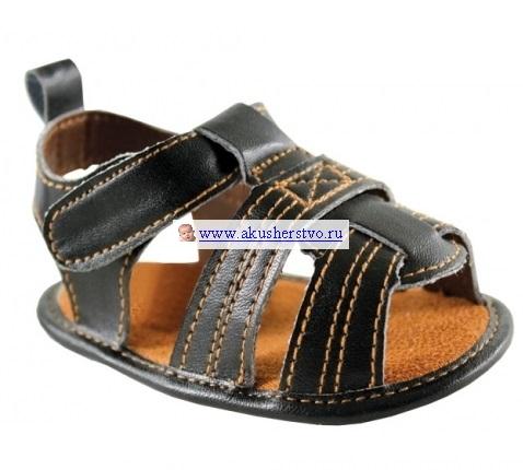 Обувь и пинетки Luvable Friends Сандалики для мальчика 0-6 мес.