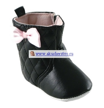 Обувь и пинетки Luvable Friends Стёганые сапожки для девочки 0-6 мес.