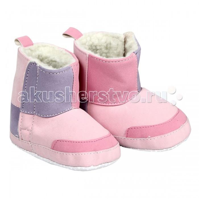 Обувь и пинетки Luvable Friends Угги для девочек 0-6 мес.