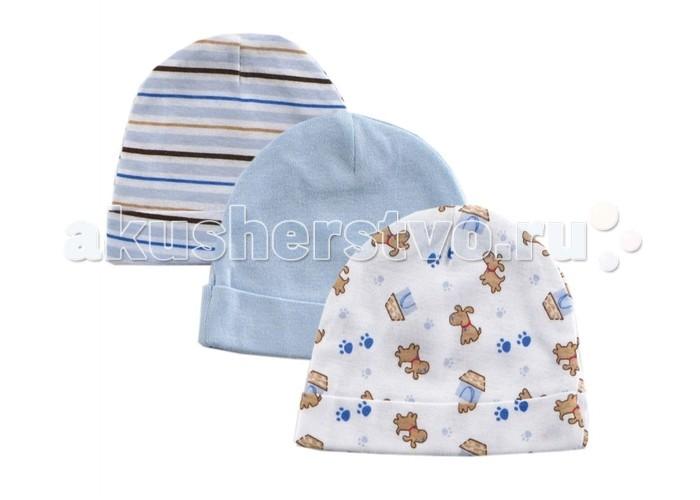 Шапочки и шарфы Luvable Friends Шапочки 34530 3 шт. 55-67 см