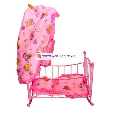 Игрушечные кроватки Mary Poppins с балдахином 67050