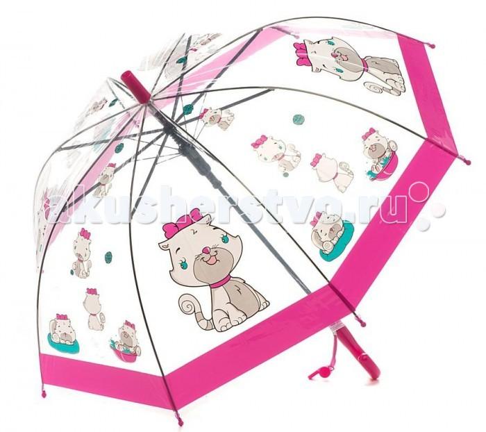 Детские зонтики Mary Poppins со свистком 50 см