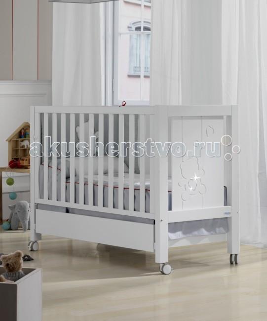 Детские кроватки Micuna Neus Relax Big Lux с кристаллами Swarovski 140x70
