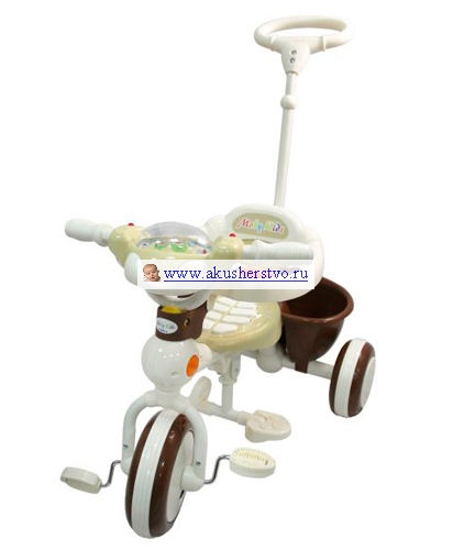 Трехколесные велосипеды Moby Kids 64428/64429/64430