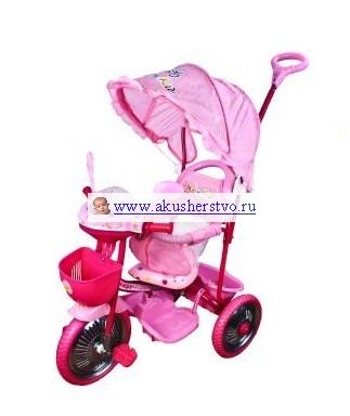 Трехколесные велосипеды Moby Kids 64499/64494