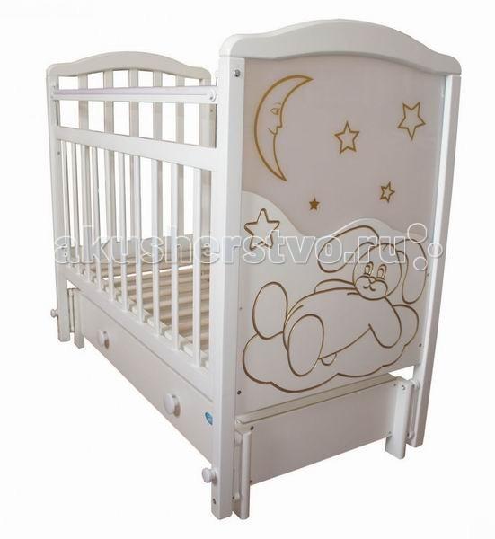 Детские кроватки Ивашка Мой малыш 12 (маятник продольный)