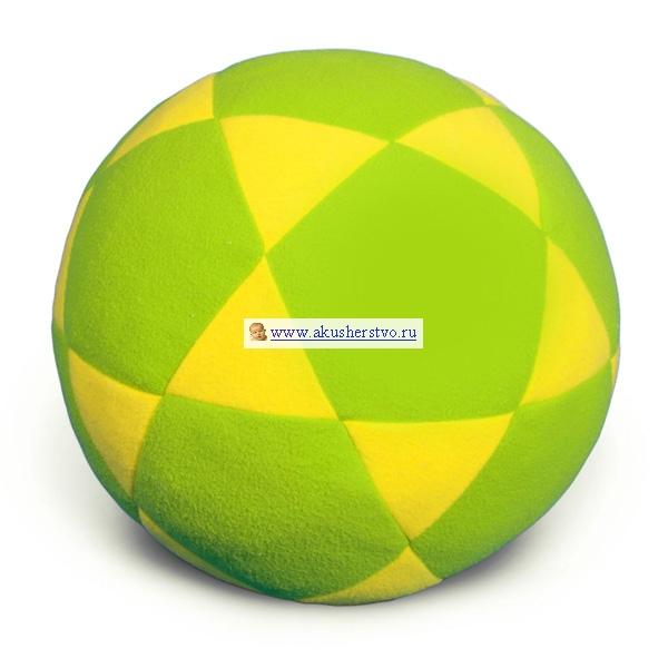 Мягкие игрушки Мякиши Мяч Звездочка 17 см
