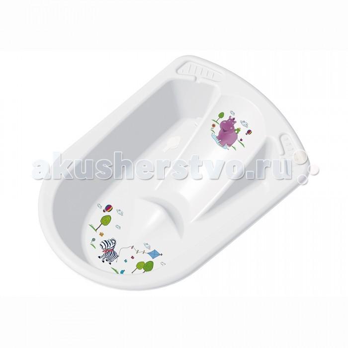 Ванны и подставки OKT ванночка Бегемотик анатомическая