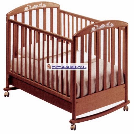 Детские кроватки Pali Zoo 125х65 (качалка)