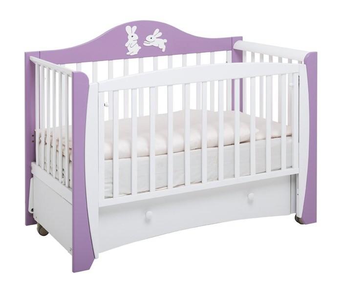 Детские кроватки Papaloni Olivia маятник