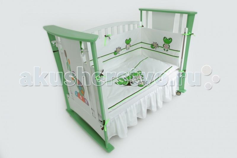 Комплекты для кроваток Papaloni Лягушачья ламбада