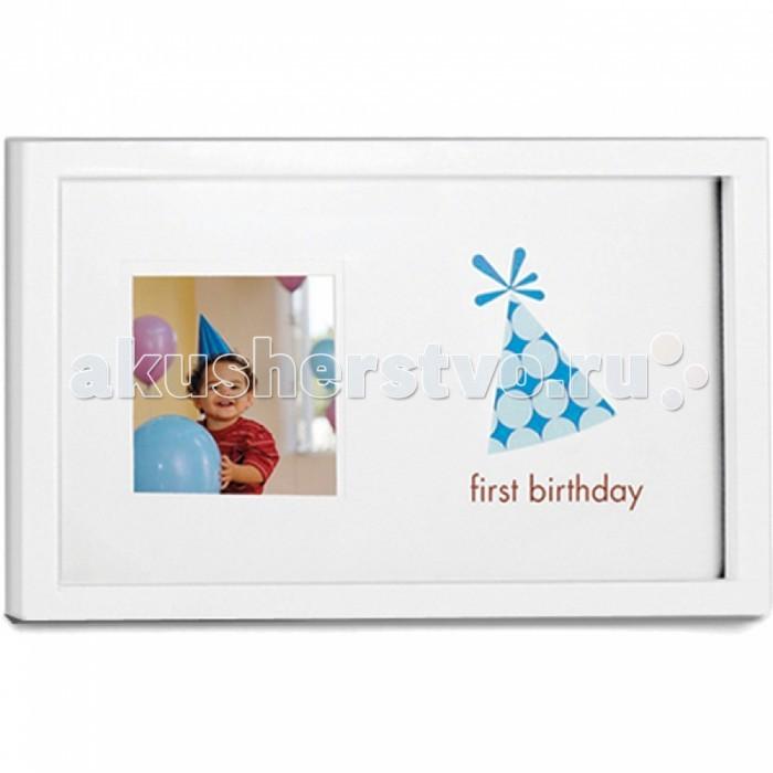 Фотоальбомы и рамки Pearhead Рамочка Мой первый день рождения