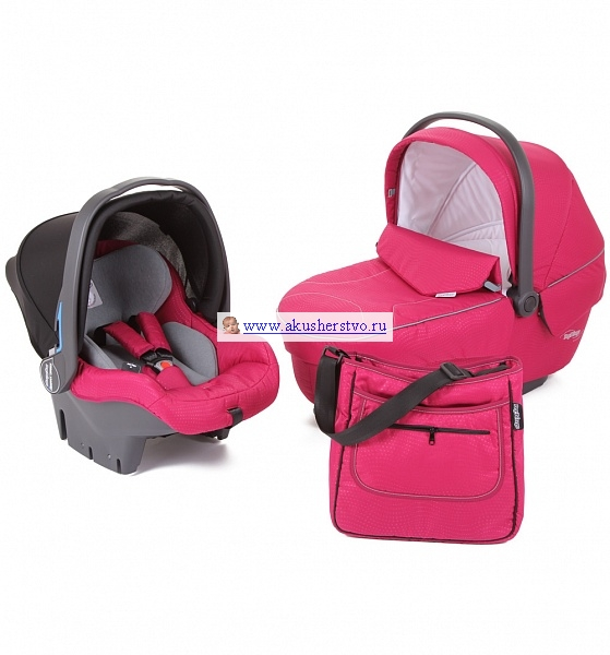 Люльки Peg-perego Комплект Modular Set (люлька Navetta XL+ автокресло Primo Viaggio + сумка Borsa mamma)