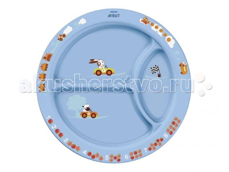 Посуда Philips-Avent Тарелка с разделителями для порций