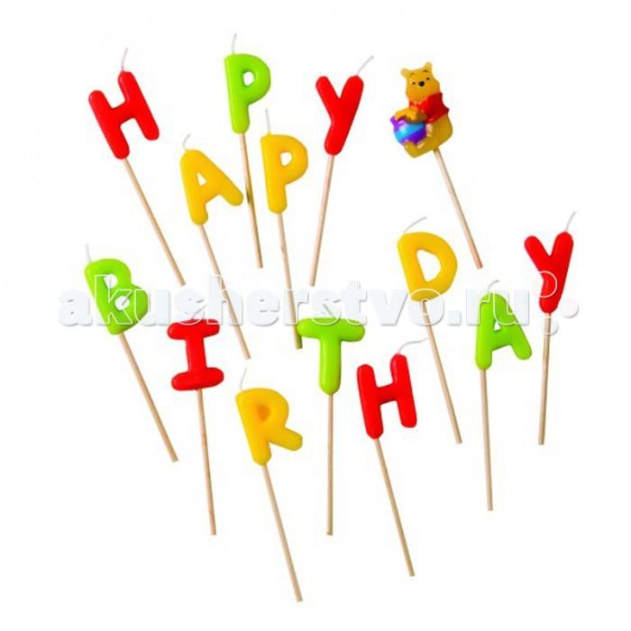 Товары для праздника Procos Свечи-буквы Happy Birthday