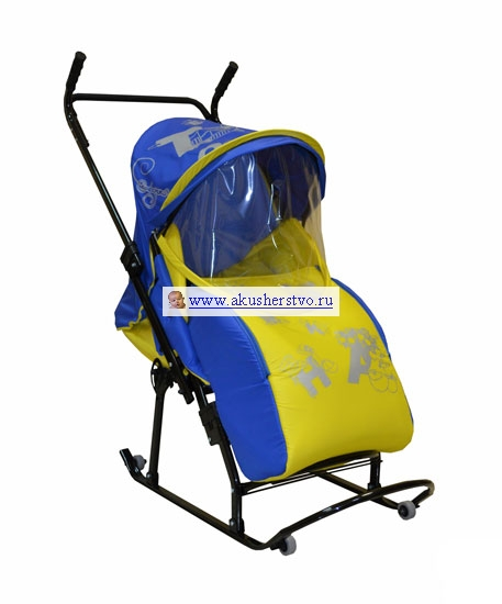 Санки-коляски R-Toys Кенгуру 7-Р Азбука