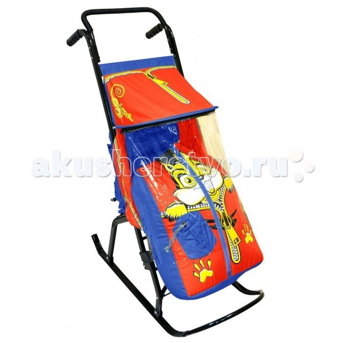Санки-коляски R-Toys Снегурочка 2-Р Бельчонок
