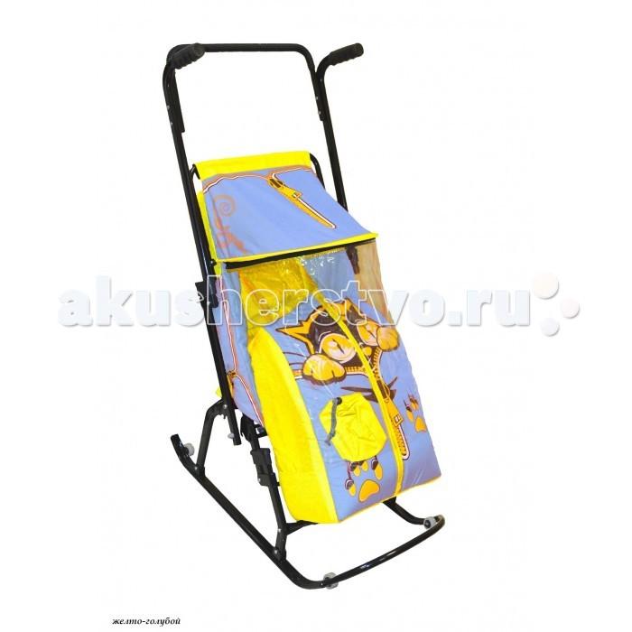 Санки-коляски R-Toys Снегурочка 4-Р Котенок